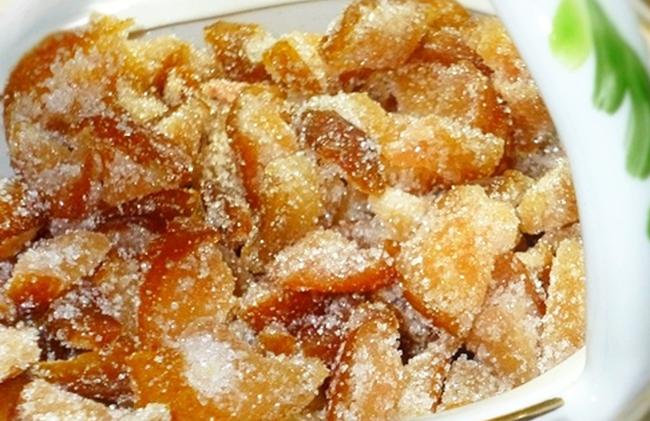 как сделать цукаты из груш
