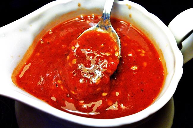 как сделать соус из помидоров
